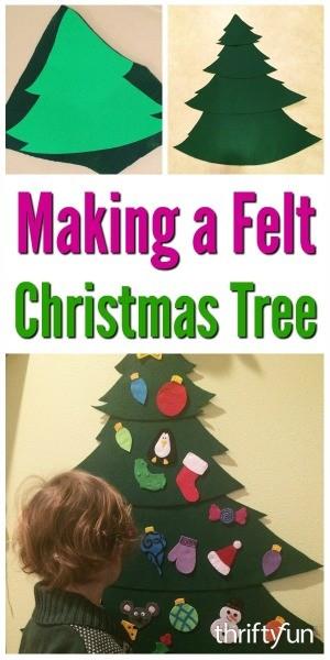 Making a Felt Christmas Tree | ThriftyFun