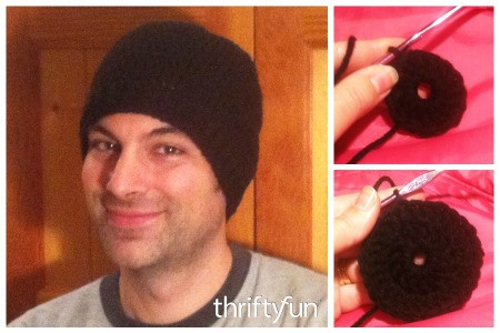 Making a Crocheted Men's Winter Hat