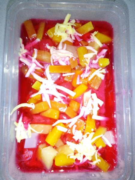 Creamy Fruta ready to serve