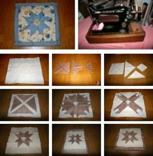 Making Quilted Potholders