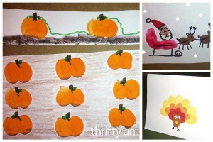 Fingerprint Craft Ideas