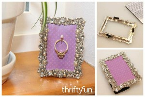 Photo Frame Ring Holder