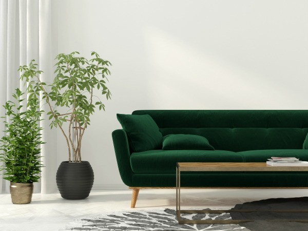 Charmant Paint Color To Coordinate With Hunter Green Furniture