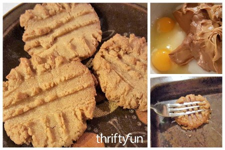 3 Ingredient Flourless Peanut Butter Cookies