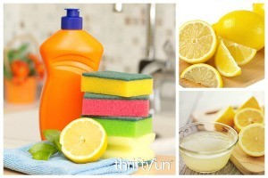 Using Lemon as an Odor Remover