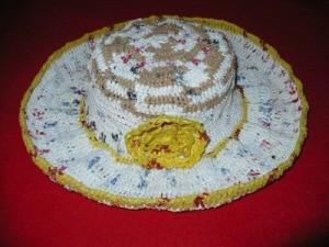 Plastic Grocery Bag Crochet Hat