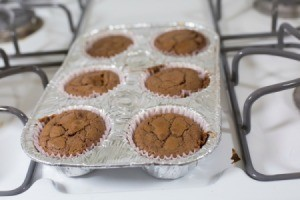 Baking Brownies in
