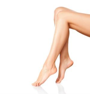 A woman's legs.