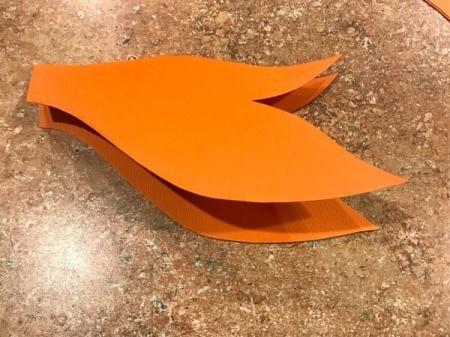'Sharky' Goldfish Paper Lantern Decoration - cut out tail