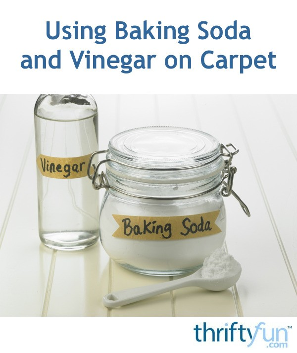 Using Baking Soda And Vinegar On Carpet Thriftyfun