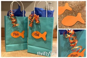 Goldfish Party Treat Bags