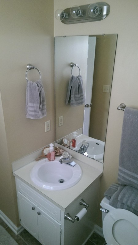 Master Bathroom Decor Ideas - sink area