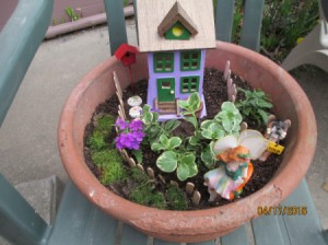 Making a Mini Fairy Garden