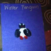 Fingerprint Penguin - two examples of the project