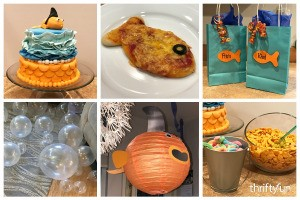 Goldfish Themed Party Ideas
