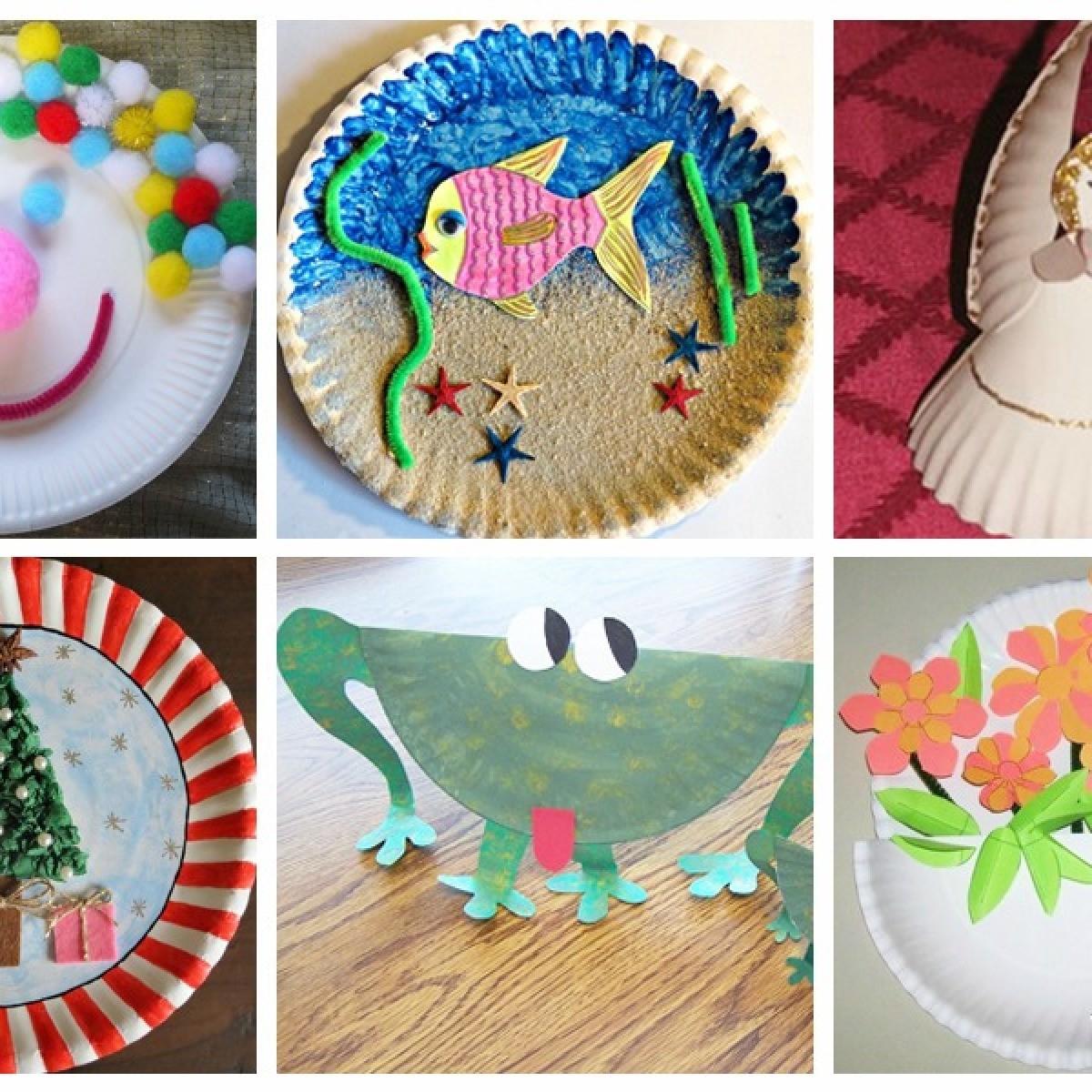 Paper Plate Craft Ideas Thriftyfun