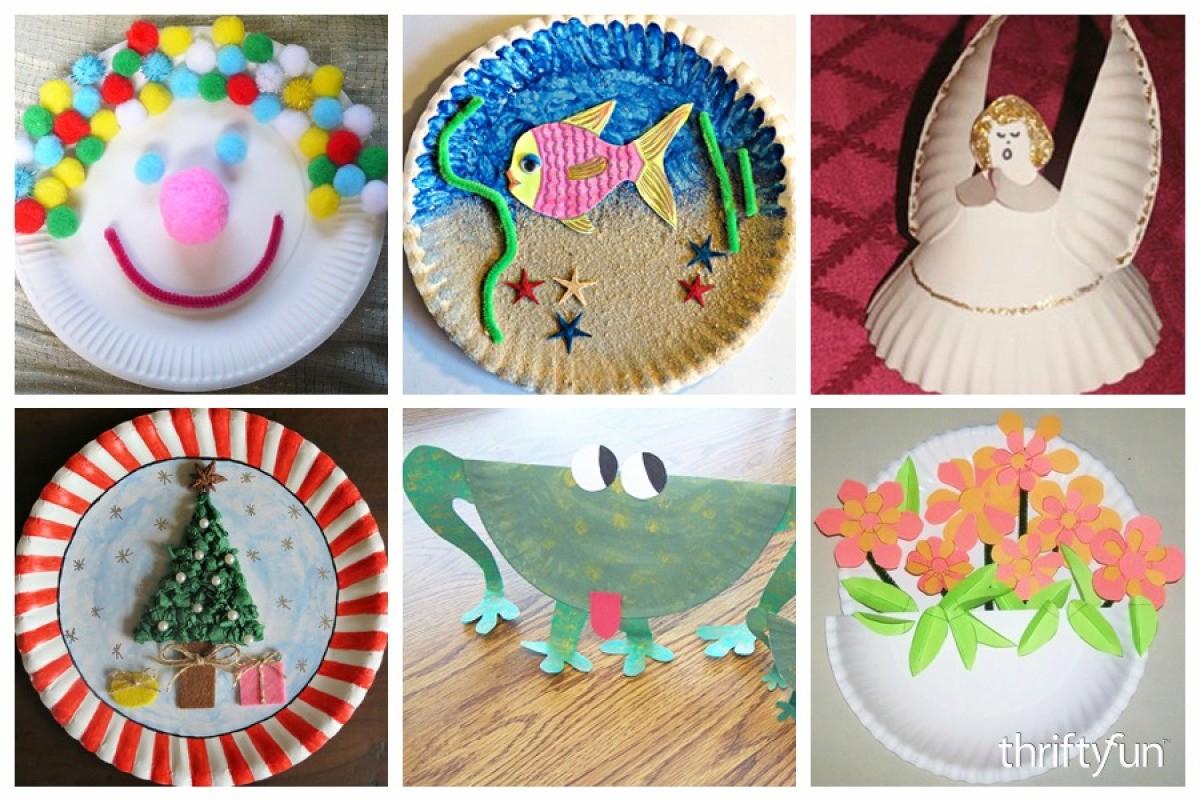 32 Paper Plate Craft Ideas Thriftyfun