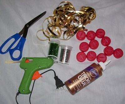 Photo of Coke Lid Christmas Tree Supplies