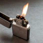 Silver Plated Lighter