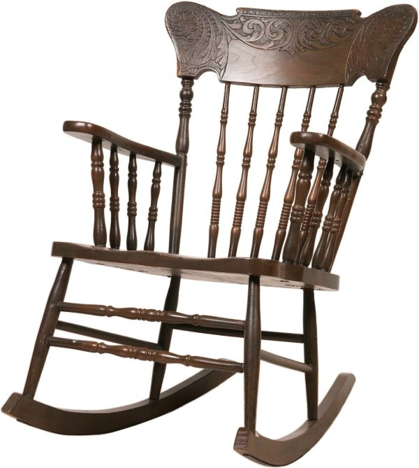 Antique Rocking Chair. Vintage ... - Finding The Value Of A Murphy Rocking Chair ThriftyFun