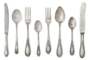 Old silverware.