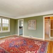 Large area rug.