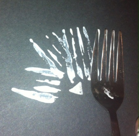 Fork Bears - have the tines point outward