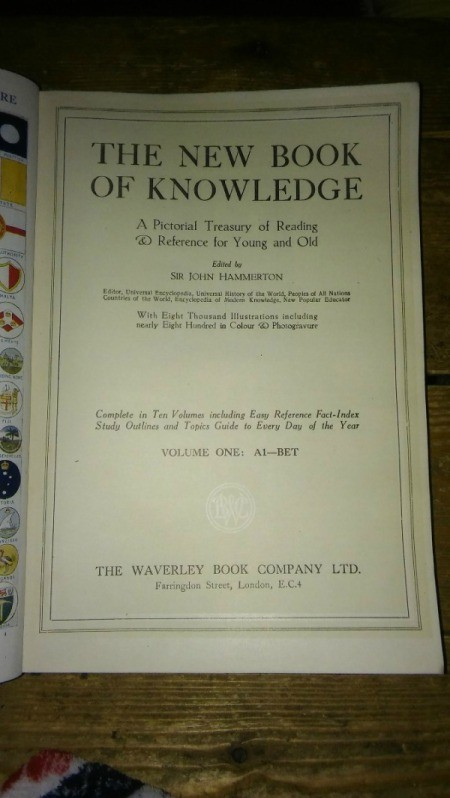Age and Value of New Book of Knowledge