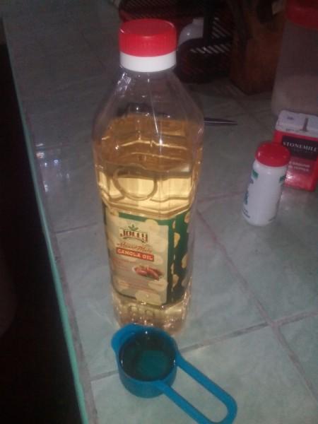 canola oil bottle