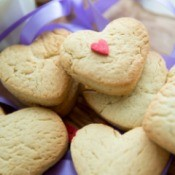 Mother's Day Heart  Cookies