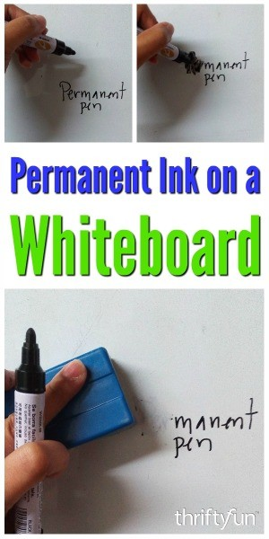 removing permanent marker on a whiteboard thriftyfun. Black Bedroom Furniture Sets. Home Design Ideas