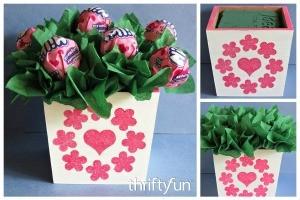 Lollipop Valentine's Day Arrangement