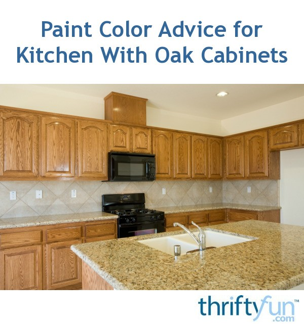 Best Kitchen Paint Colors With Oak Cabinets: Paint Color Advice For Kitchen With Oak Cabinets