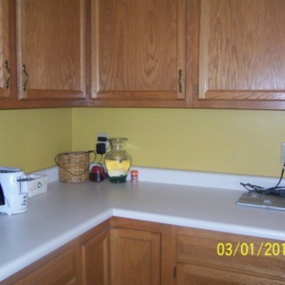 Paint Color Advice for Kitchen With Oak Cabinets and Floors