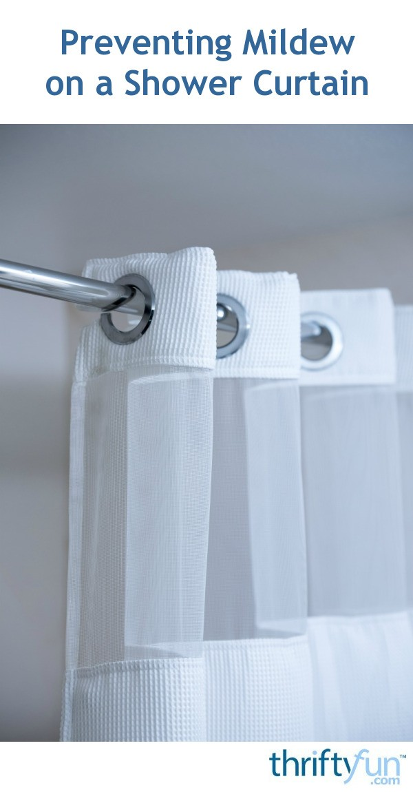Preventing Mold And Mildew On A Shower Curtain