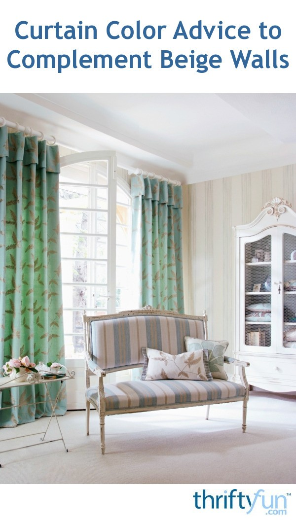 Admirable Curtain Color Advice To Complement Beige Walls Thriftyfun Ncnpc Chair Design For Home Ncnpcorg