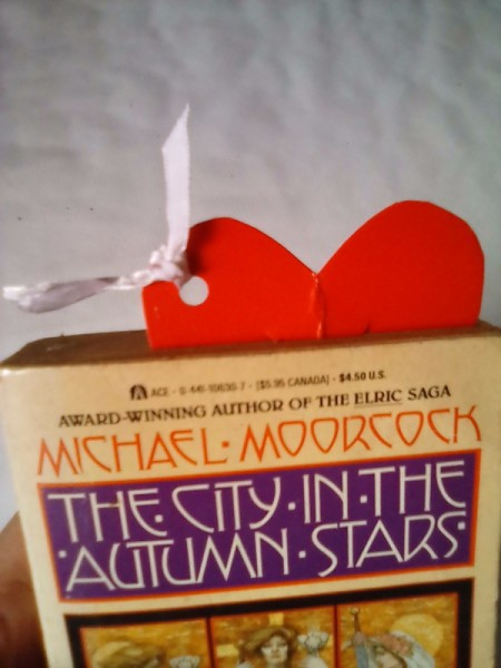 Valentine Bookmark - front of book with bookmark sticking up