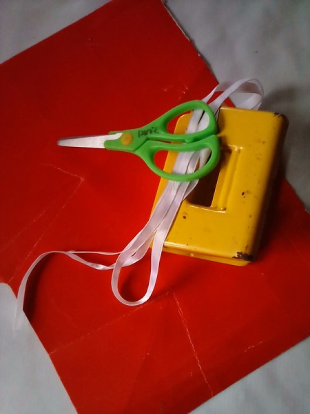 Valentine Bookmark - supplies