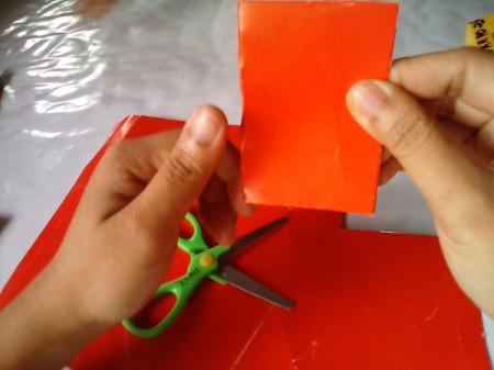 Valentine Bookmark - fold in half