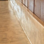 Painting Countertops to Look Like Marble = light creamy tan countertop