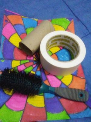 Thrifty Lint Roller Brush - supplies