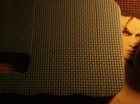 Foam Bath Mat - mark 6x1 inch bars on each kneeler, a total of 8 bars