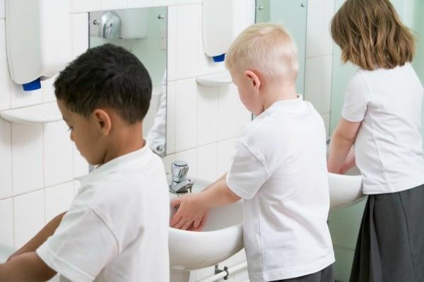 Elementary School Bathroom removing urine odors in an elementary school bathroom | thriftyfun