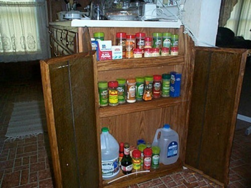 Homemade Spice Rack Ideas Thriftyfun