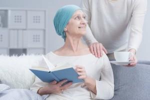 A woman wearing a blue turban.
