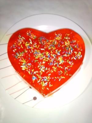 Fruity Valentine Gelatin