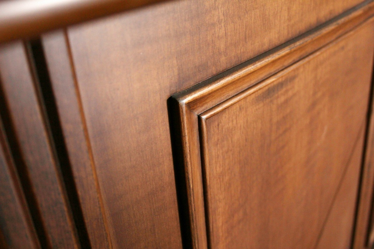Image of: Restaining Old Kitchen Cabinets Thriftyfun