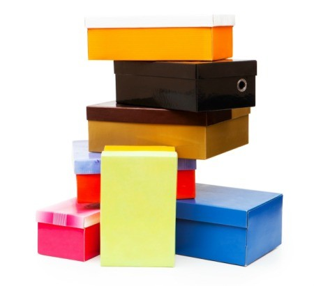 Stack of Shoe Boxes
