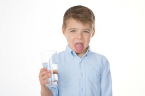Boy With Bad Tasting Water