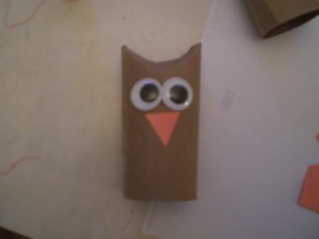 Owl Valentine - beak